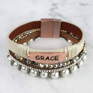 Mansion Chic Jewelry - Grace Bracelet